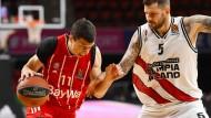 Er ist kaum zu stoppen: Vladimir Lučić, der Anführer des FC Bayern Basketball.