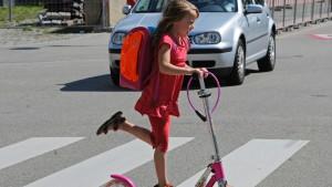 Große Städte bergen für Kinder nicht mehr Unfallrisiken