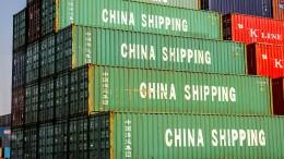 Handelsstreit zwischen Amerika und China eskaliert
