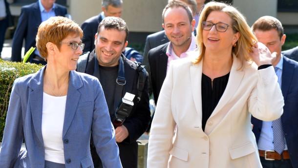 CDU und SPD einigen sich auf Koalition
