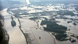 Rekordverdächtige Flut