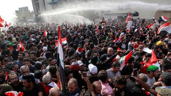 Iraker protestieren dritten Tag in Folge gegen Regierung
