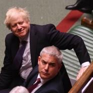 Noch nicht das Ende: Der britische Premierminister Boris Johnson am Freitag bei der zweiten Lesung des Brexit-Gesetzes