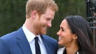 Streng gesund für seine Meghan? Prinz Harry mit seiner Verlobten