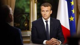 Macron kritisiert Trumps Iran-Politik