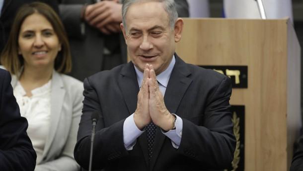 Knesset außer Betrieb
