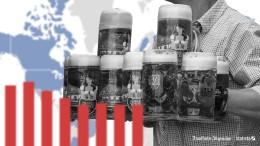 So viel trinken Deutsche mehr als Russen