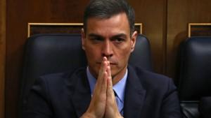 Sánchez am Ende