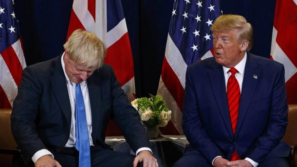 Trump mischt sich in britischen Wahlkampf ein