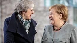 Merkel erteilt May Absage zu Nachverhandlungen