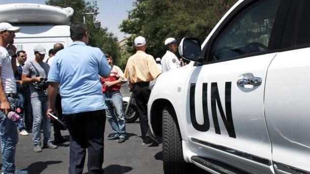 UN-Beobachtermission wird um 30 Tage verlängert