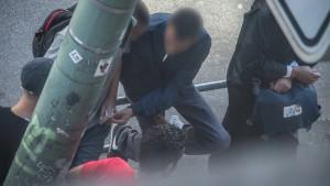 Polizei im Bahnhofsviertel weiter mit mehr Kräften