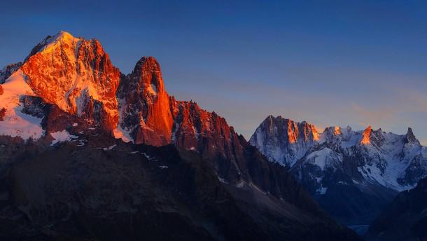 Die Alpen zerbröseln