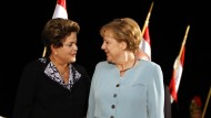 Merkel in Brasilien