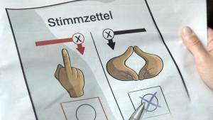 Tengelmann wirbt für Merkel