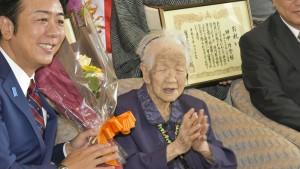 Fast 70.000 Hundertjährige in Japan