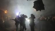 Neue Zusammenstöße in Hongkong