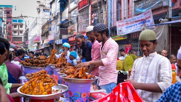 Markt der tausend Köstlichkeiten