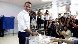 Wird er der Nachfolger von Alexis Tsipras?
