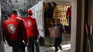 UN-Hilfskonvoi in Ost-Ghouta beschossen
