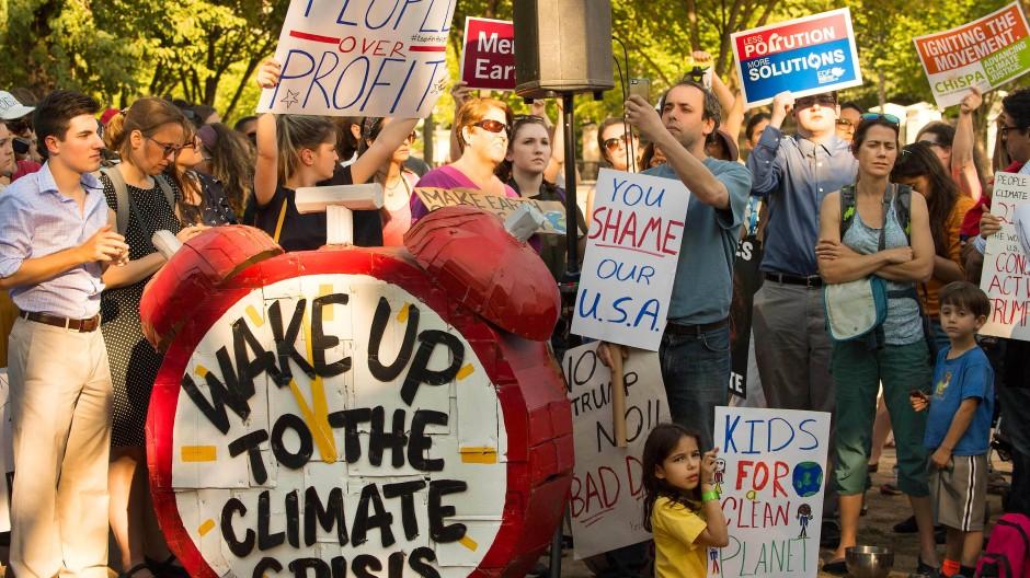 Scharfe Kritik an Trumps Klima-Rückschritt