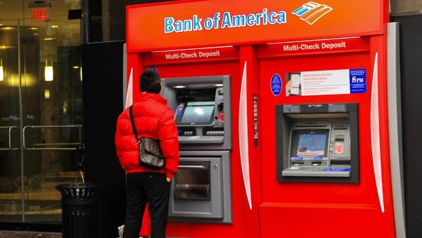 Amerikas Banken könnten Eigenkapital abbauen