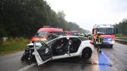 Schwerer Unfall mit vier Toten