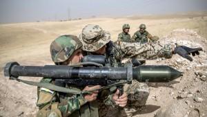 Bundeswehr nimmt Ausbildung der Kurden wieder auf