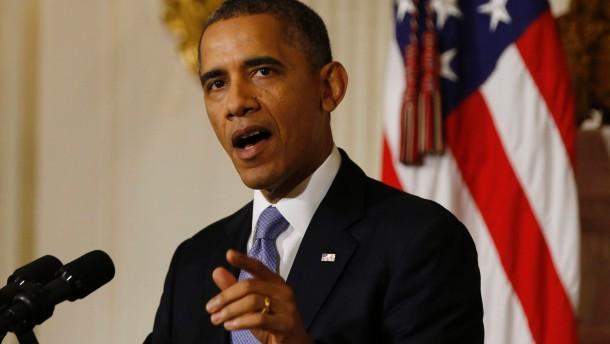 """Obama beklagt """"unnötigen"""" Haushaltsstreit"""