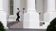 Eindringling ins Weiße Haus schaffte es bis in Empfangssäle