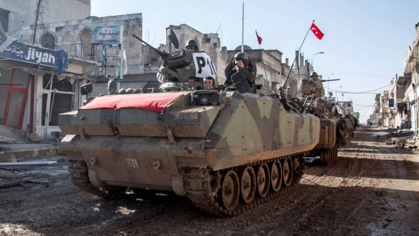"""Syrien wertet Einsatz der Türkei als """"unverhohlene Aggression"""""""