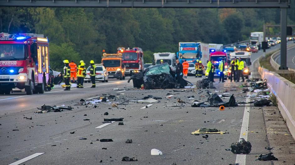 Die Unfallursache ist noch nicht klar.