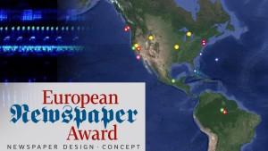 European Newspaper Awards für FAZ.NET und Sonntagszeitung