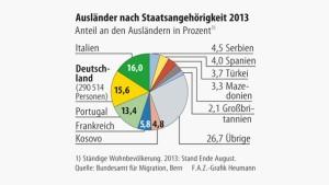 Infografik / Ausländer nach Staatsangehörigkeit