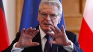 Gauck zeigt sich besorgt über Entwicklung in der Türkei