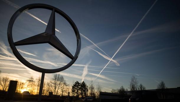 Daimler muss 870 Millionen Euro Diesel-Buße zahlen