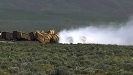 Güterzug mit Munition entgleist