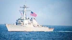 Amerikanisches Kriegsschiff durchquert Chinas Hoheitsgewässer