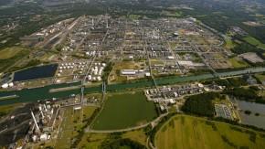 Luftbild des Chemieparks Marl aus dem Jahr 2009