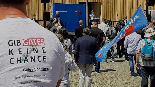 AfD ermutigt zu Protesten gegen Corona-Maßnahmen