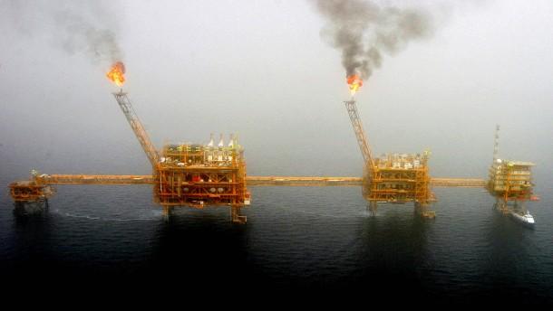 Die Ölpreise steigen