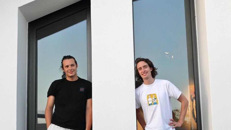 Enthusiasten: Lorenzo Dolce (links) und John Steinmark (rechts) sind die kreativen Köpfe von Jazz Montez.
