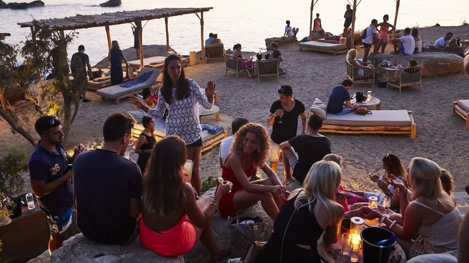 Party-Hot-Spot Mykonos: Auf der griechischen Insel lässt es sich gut feiern.