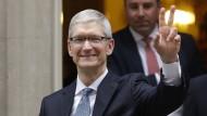 Macht eine milliardenschwere Ansage: Apple-Chef Tim Cook
