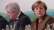 Seehofer und Merkel im Januar in Kreuth bei der Klausurtagung der CSU-Landtagsfraktion
