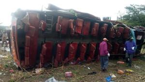 58 Tote bei Busunglück in Kenia