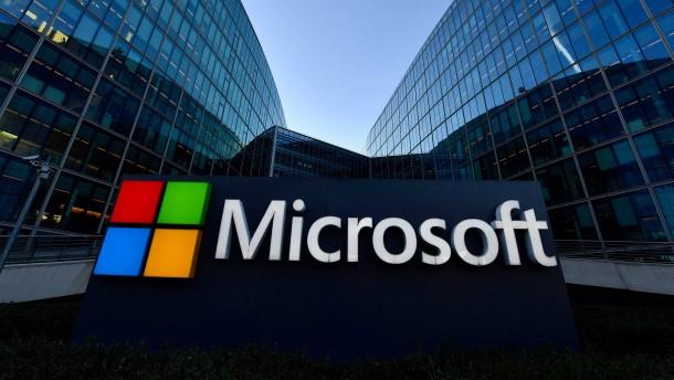Microsoft trotzt Corona-Krise