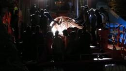 Unterkühlte Migranten gerettet