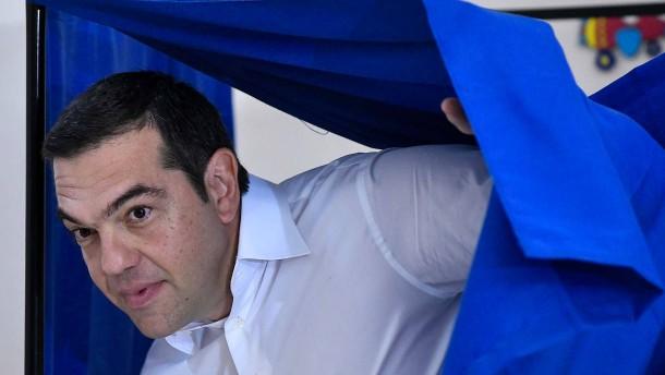 Deutliche Niederlage für Tsipras