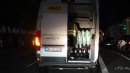 Mit dem Miettransporter zur Nachtschicht: Roller-Sammler in Hamburg